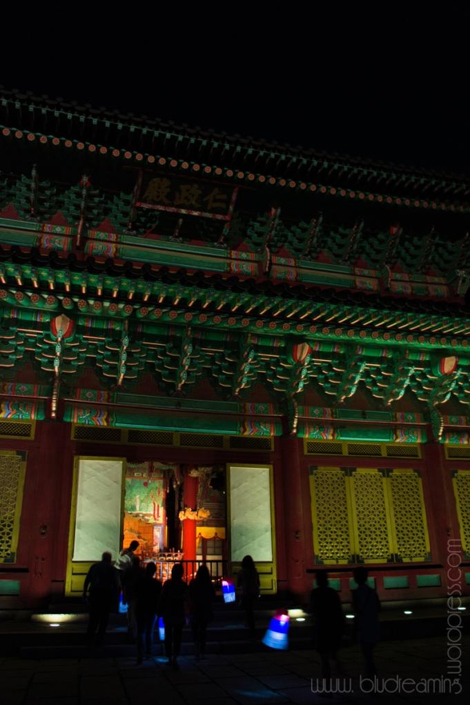 인정전 (Injeongjeon; Interior)