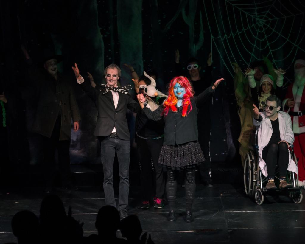 Nightmare Before Christmas musical skellington oogie boogie sally