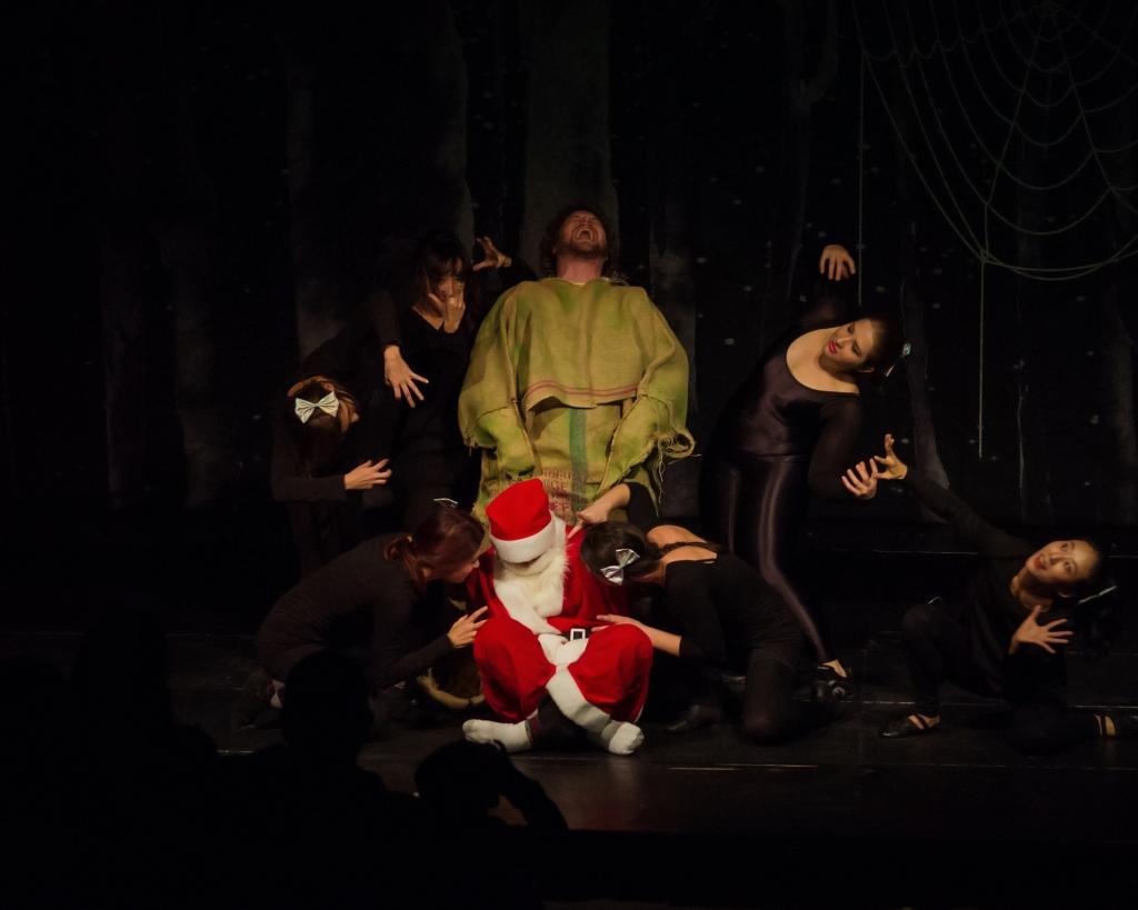 Nightmare Before Christmas musical oogie boogie